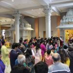Crowd at Saraswati Puja and Basant Panchami