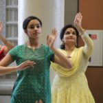 Kavya and Anjana Nair perform at Saraswati Puja and Basant Panchami