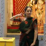 Mukta Sathe performs at Saraswati Puja and Basant Panchami